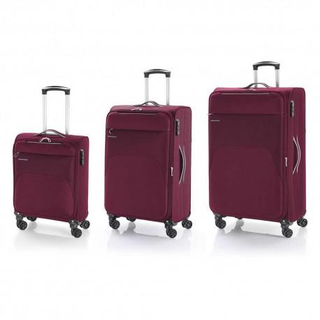 گابل Gabol ست سه تایی چمدان نرم Zambia