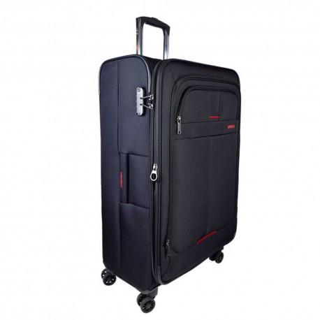 چمدان نرم چهار چرخ سايز بزرگ Persa-Lily با قفل TSA