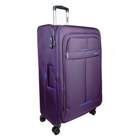Persa چمدان نرم چهار چرخ سایز بزرگ Persa-Lily با قفل TSA