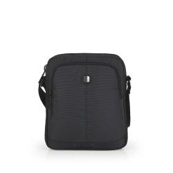 کیف دوشی مردانه Focus سایز 6×24×20 - طوسی