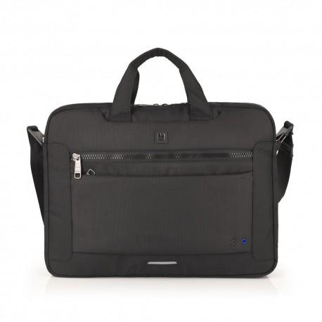 گابل Gabol کیف لپ تاپ دو زیپ 15.6 اینچی Info سایز 9×31×42 - مشکی