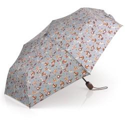 چتر تاشو اتوماتیک Dalia سایز 53cm - قهوه ای